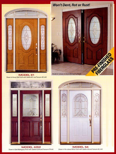 Special order fiberglass doors for Special order doors